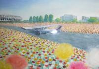花の飛行場