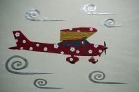 和の飛行機